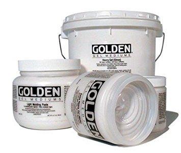 Golden Light Molding Paste - Golden Artist Colors - Light Molding Paste - 128 oz Jar