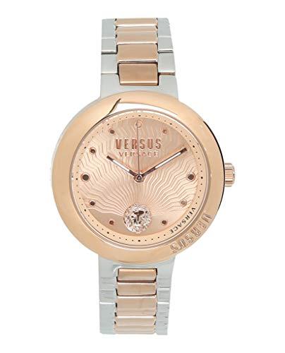 Versus by Versace Women's LANTAU Island Quartz Watch with Two-Tone-Stainless-Steel Strap, 16 (Model: ()