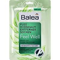 Balea Hornhaut-Entfernersocken Feel Well, 1 Paar, 1 x 2 St, Balea Hornhaut Socken, Hornhaut Entfernung Socken