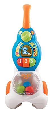 VTech Pop and Count Vacuum Push Toy