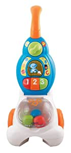 VTech Pop and Count Vacuum Push