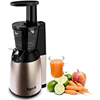 Argue Le Slow Juicer 150W Easy Cleaning Cold Press Juicer (Gold)