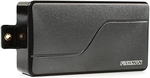 Fishman Fluence Modern Humbucker Alnico Pickup - Black Plastic