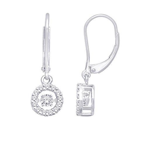 0.32 Ct Diamond Dangle - 6