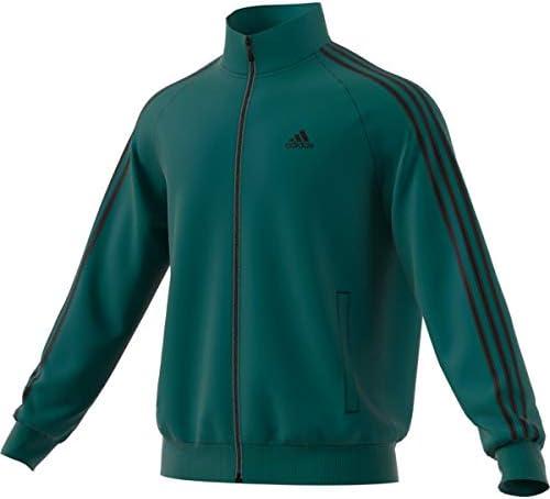 Adidas Essentials 3S Tricot Track Jacket Mens All Sports M