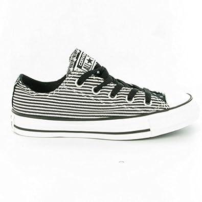 f8e8ae5ee6d5b0 Converse 144830 F étoiles et bars OX Chaussures à lacets, Noir/blanc - -