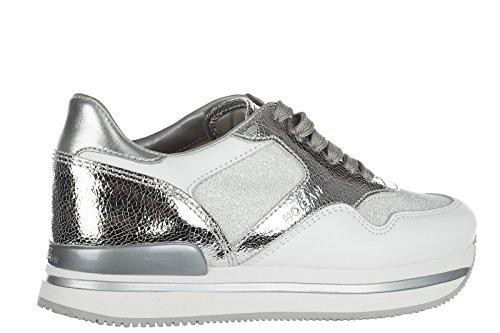 Hogan zapatos zapatillas de deporte mujer en piel nuevo h222 sportivo xl allacci