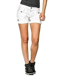 Suko Women Cargo Shorts Adjustable length stretch poplin 2 to 22 PLUS SIZE