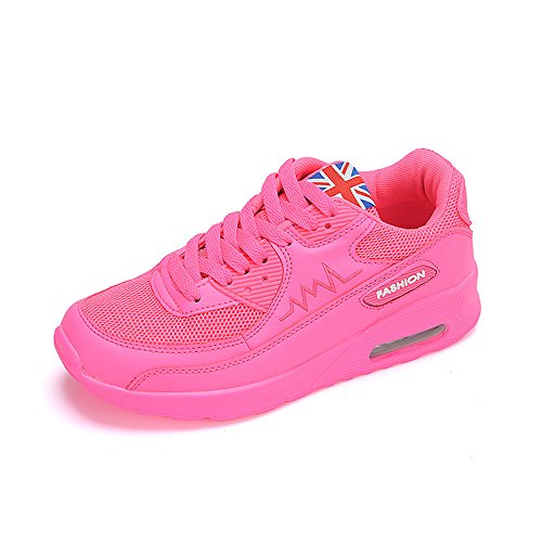 Jogging Peggie Multicolore Sneakers Running Rose Style Gym Chaussures House Fitness Respirante Lacet Course Femme pink Baskets Sport twqfASUwx