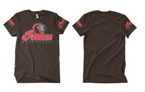 Indian Motorcycle 1 T-Shirt Herren Braun