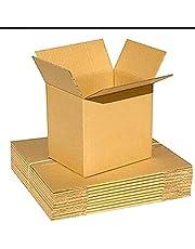 25 Pcs 6x6x6 Cardboard Shipping Boxes Cartons Packing Moving Mailing Box