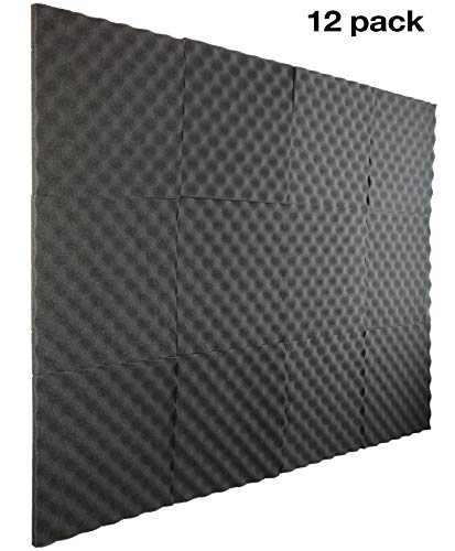 - New Level 12 Pack- Acoustic Panels Studio Foam Egg Crate 1