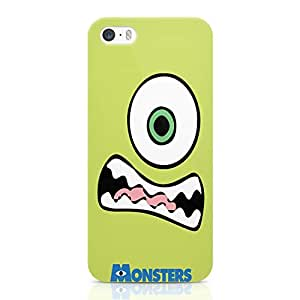 Loud Universe Cartoon Design Mike iPhone 5 / 5s Case Monster Inc Movie iPhone 5 / 5s Cover with 3d Wrap around Edges