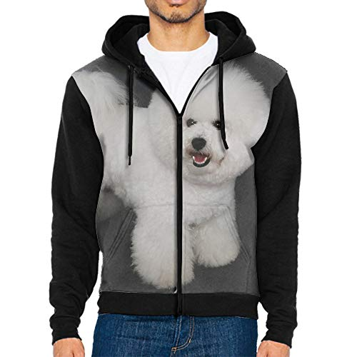 Shih Tzu Bichon Maltese Fashion Hoodies Men Sweatshirts Long Sleeve Loose All Match Pocket - Bichon Sweatshirt