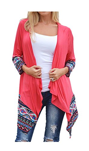 ARJOSA Womens Asymmetric Irregular Cardigan