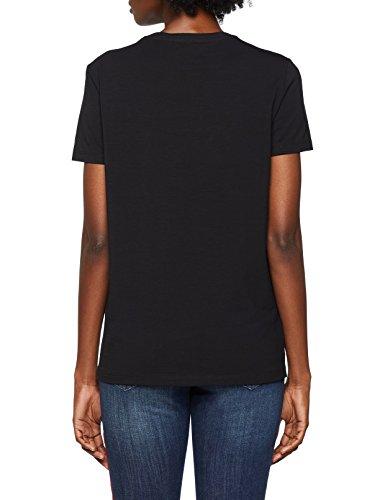 Lady nero Versace Donna shirt T E899 Jeans Nero 5ww8qRa