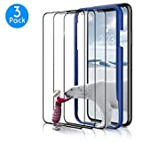 (3 Packs) Screen Protector Designed for iPhone XR 2018, Premium HD Clarity Edge to Edge Coverage Full Protection Tempered Glass Screen Protector for iPhone XR, ter1