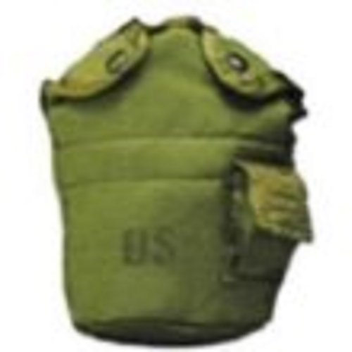 OD Government Nylon Canteen Cover by Unknown