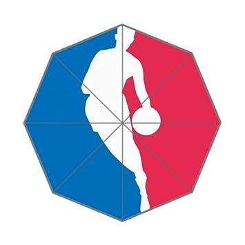 NBA baloncesto Custom Auto plegable paraguas a prueba de viento plegable paraguas
