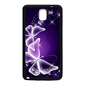 Butterfly Angel Black Phone For Iphone 6 4.7 Inch Case Cover