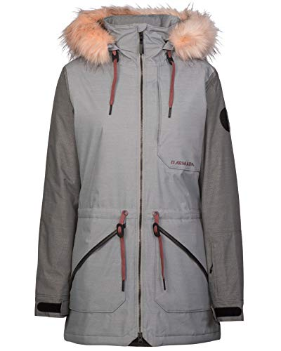 Armada Women's Lynx Insulated Jacket - Shark - S