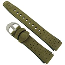 "TX247781, Timex watchband, Expedition - with Holes"", 18MM, Olive"""