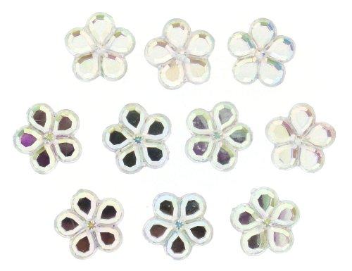 Dress It Up 3962 Petal Embellishments, 14mm, Crystal AB