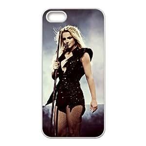 WJHSSB Diy Britney Spears Selling Hard Back Case for Iphone 5 5g 5s