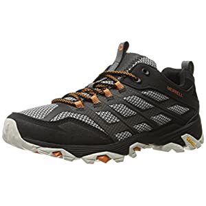 Merrell Men's Moab FST Hiking Shoe, Black, 11 M US