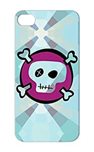 TPU Miscellaneous Baby Family Baby Skull Pink Dustproof Skull 2colors For Iphone 5s Cover Case