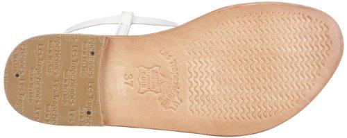 Les Tropeziennes Narvil, Women's Flip Flop Sandals Weiß (Blanc 30548 471)