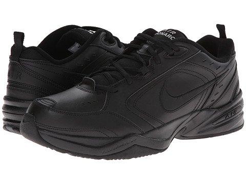 (ナイキ) NIKE メンズランニングシューズ?スニーカー?靴 Air Monarch IV Black/Black 10.5 28.5cm 4E - Extra Wide [並行輸入品]