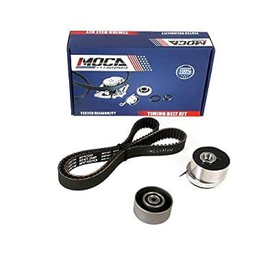 MOCA K015603XS Timing Belt Kit with Tensioner for 2007-2015 Chevrolet Aveo & Cruze & Orlando &Trax, Fiat Stilo & Croma, Opel Astra H 1.6L 1.8L: Automotive