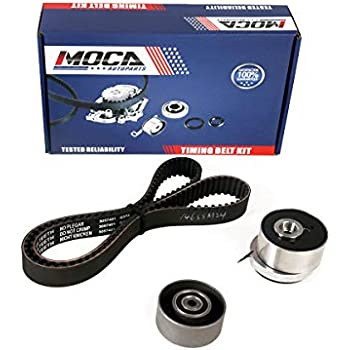 MOCA K015603XS Timing Belt Kit with Tensioner for 2007-2015 Chevrolet Aveo & Cruze & Orlando &Trax, Fiat Stilo & Croma, Opel Astra H 1.6L 1.8L
