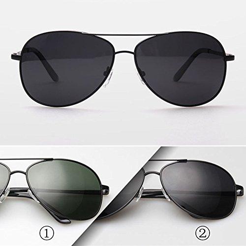 Trend Men Anti Fog Lens Driving Classic Sun Glasses SUN001 Black +Grey2