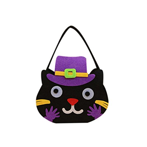 Enfants Sac HCFKJ MéNage Bonbon Jardin Maison C1 Halloween Happy Decor Paquet Snack MqYYBUtw