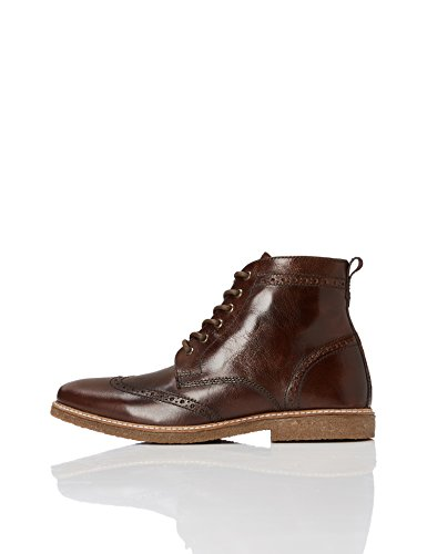 Stivaletti Stringati Brown in Uomo FIND Marrone Pelle Sdxdw