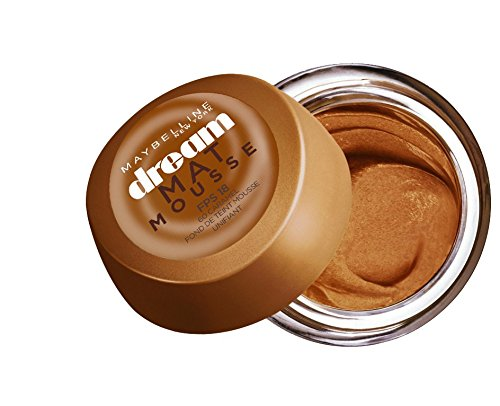 Gemey Maybelline Dream Matte Mousse Foundation 60 Caramel by Maybelline