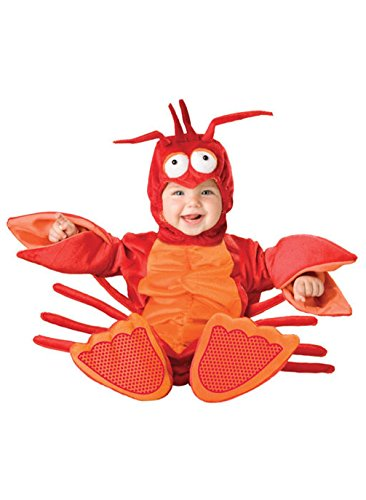 Mememall Fashion Lil' Lobster Infant/Toddler Halloween Costume (Jackie Moon Halloween Costume)