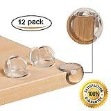 Image of (12 Pack) Arishine Clear Baby Corner Protectors, Anti-Collision Cushion against Sharp Furniture Edges