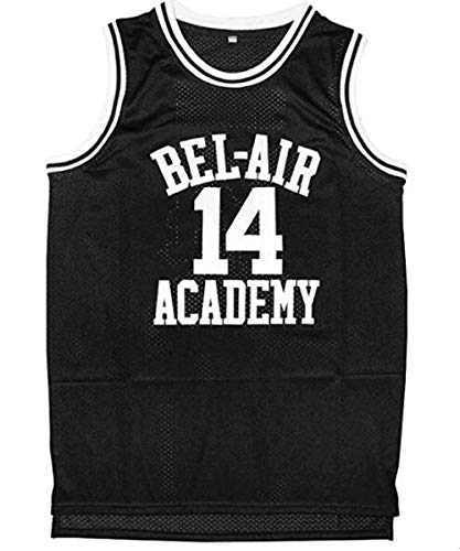 fcc6642b9f60 Will Smith 14 The Fresh Prince of Bel Air Academy Basketball Jersey S-XXL