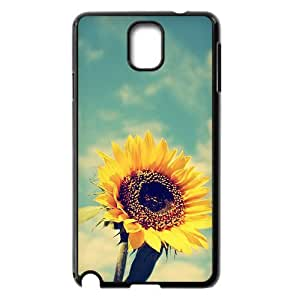 Sunflower Use Your Own Image Phone Case for Samsung Galaxy Note 3 N9000,customized case cover ygtg562413