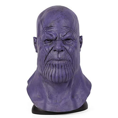 (Ani·Lnc Avengers Infinity War Superhero Mask Latex Full Head Masks Halloween Cosplay Party Props)