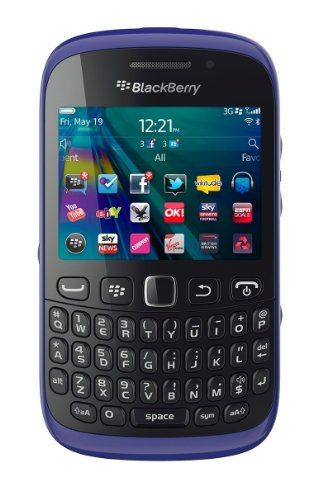 Blackberry Curve 9320 Unlocked GSM Phone with OS 7.1, QWERTY Keyboard, Touch-Sensitive Optical Trackpad, 3.15MP Camera, Video, GPS, Wi-Fi, Bluetooth, FM Radio, MP3/MP4 Player and microSD Slot - Purple