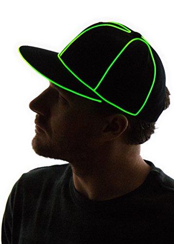 0e082e1d965 Neon Nightlife Light up Snapback Hat