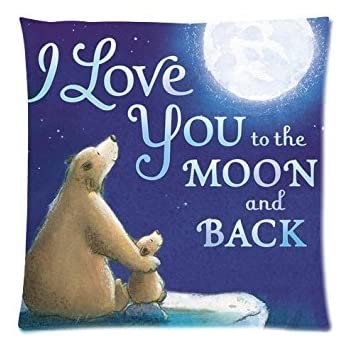 Amazon.com: I Love You To The Moon And Back dos partes ...