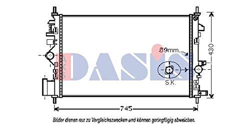 engine cooling AKS Dasis 150093N Radiator