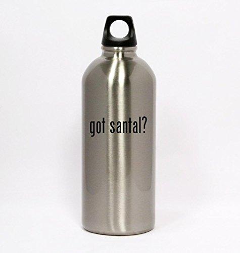 got-santal-silver-water-bottle-small-mouth-20oz