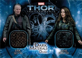 Thor Dark World DMD-2 Costume Memorabilia Card Erik Selvig & Jane Foster]()