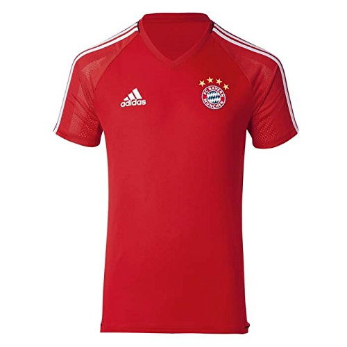 2017-2018 Bayern Munich Adidas Training Shirt (Red) - Kids